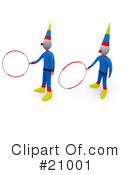 Clowns Clipart #21001