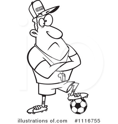 Soccer Clipart #1116755 by toonaday