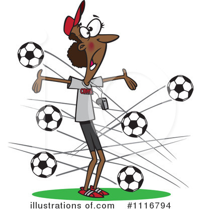 Soccer Clipart #1116794 by toonaday