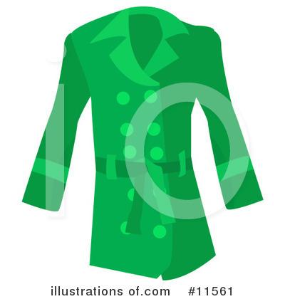 More Clip Art Illustrations of Coat