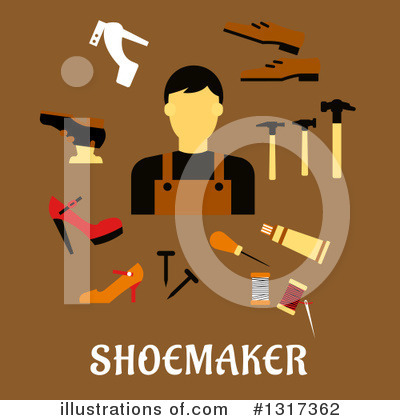 Cobbler Clipart #1317362 by Vector Tradition SM