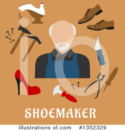 Cobbler Clipart #1352329 by Vector Tradition SM