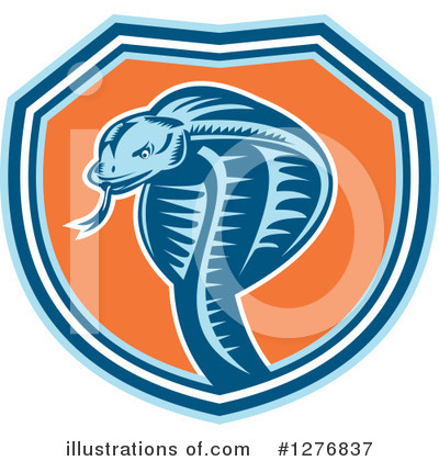Snake Clipart #1276837 by patrimonio