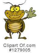 Cockroach Clipart #1279005 by Dennis Holmes Designs