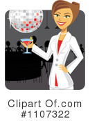 Cocktail Clipart #1107322 by Amanda Kate