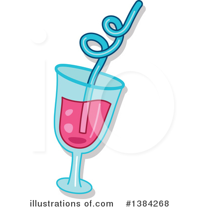 Royalty-Free (RF) Cocktail Clipart Illustration by BNP Design Studio - Stock Sample #1384268