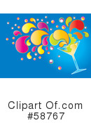 Cocktail Clipart #58767 by MilsiArt