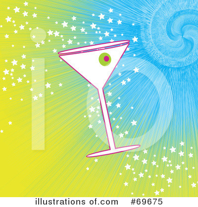 Martini Clipart #69675 by MilsiArt