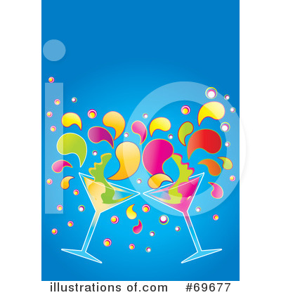 Martini Clipart #69677 by MilsiArt