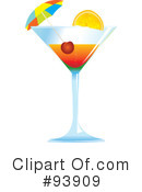 Royalty-Free (RF) cocktail Clipart Illustration #93909