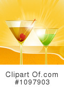 Royalty-Free (RF) Cocktails Clipart Illustration #1097903