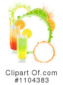 Royalty-Free (RF) cocktails Clipart Illustration #1104383