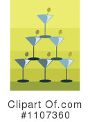 Royalty-Free (RF) Cocktails Clipart Illustration #1107360