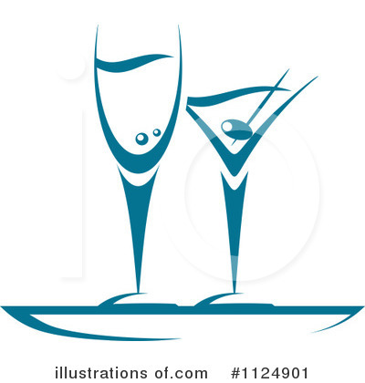 Martini Clipart #1124901 by Vector Tradition SM