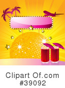 Royalty-Free (RF) Cocktails Clipart Illustration #39092