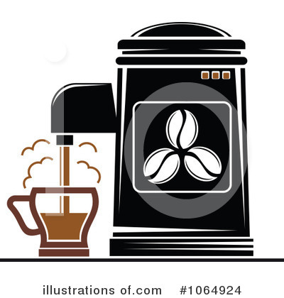 Coffee Clipart #1064924 by Vector Tradition SM