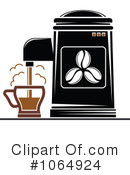 Royalty-Free (RF) Coffee Clipart Illustration #1064924