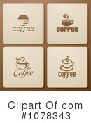 Royalty-Free (RF) Coffee Clipart Illustration #1078343