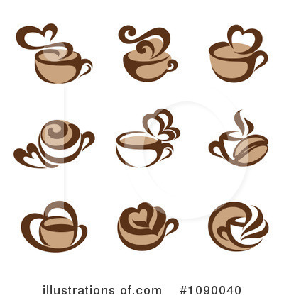 Coffee Clipart #1090040 by elena