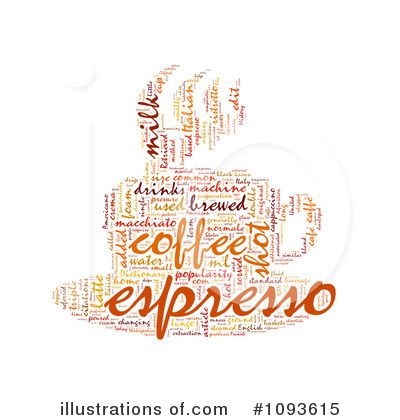 Word Collage Clipart #1093615 by MacX