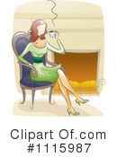Royalty-Free (RF) Coffee Clipart Illustration #1115987