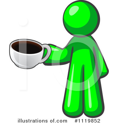 Green Design Mascot Clipart #1119852 by Leo Blanchette