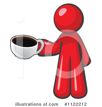 Red Design Mascot Clipart #1122212 by Leo Blanchette