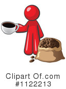 Coffee Clipart #1122213 by Leo Blanchette