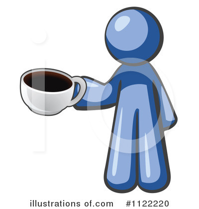 Coffee Clipart #1122220 by Leo Blanchette
