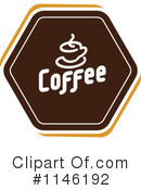Royalty-Free (RF) Coffee Clipart Illustration #1146192