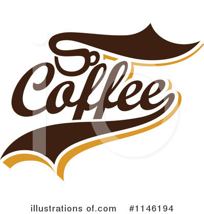 Coffee Logo Clipart #1146194 by elena