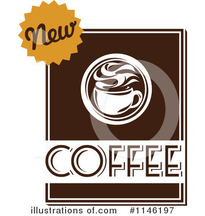 Royalty-Free (RF) Coffee Clipart Illustration by elena - Stock Sample #1146197