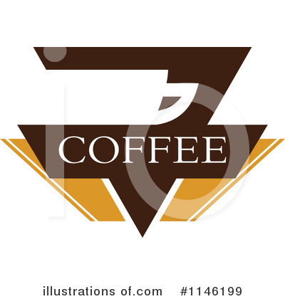 Coffee Logo Clipart #1146199 by elena