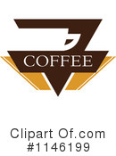 Royalty-Free (RF) Coffee Clipart Illustration #1146199