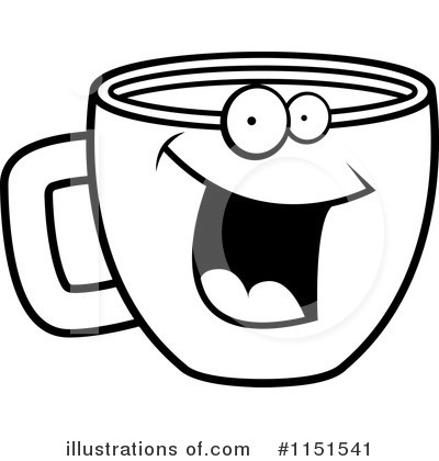Coffee Clipart #1151541 by Cory Thoman