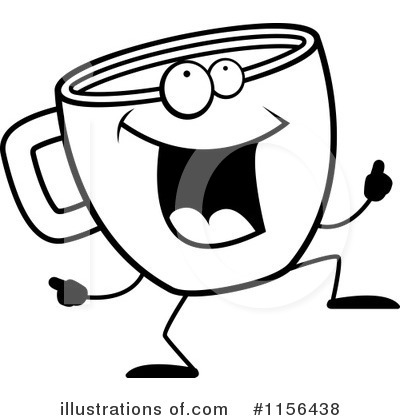 Coffee Clipart #1156438 by Cory Thoman