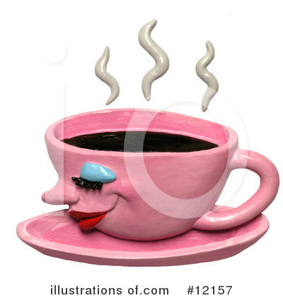 Coffee Clipart #12157 by Amy Vangsgard