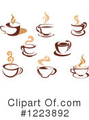 Coffee Clipart #1223892 by Vector Tradition SM