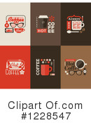 Royalty-Free (RF) Coffee Clipart Illustration #1228547