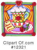 Royalty-Free (RF) Coffee Clipart Illustration #12321