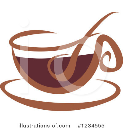 Coffee Clipart #1234555 by Vector Tradition SM