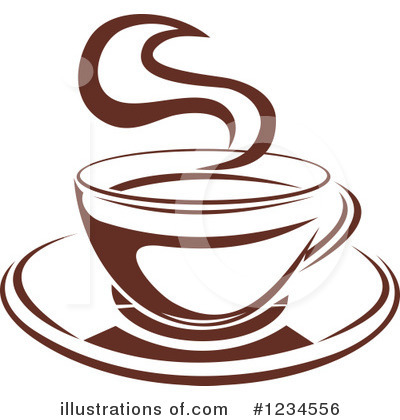 Coffee Clipart #1234556 by Vector Tradition SM