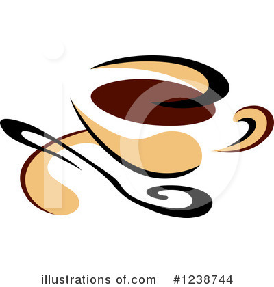 Coffee Clipart #1238744 by Vector Tradition SM