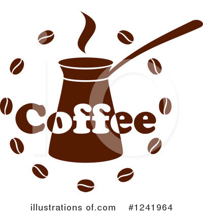 Coffee Beans Clipart #1241964 by Vector Tradition SM