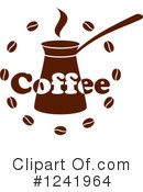 Royalty-Free (RF) Coffee Clipart Illustration #1241964