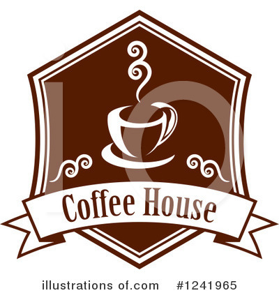 Coffee Clipart #1241965 by Vector Tradition SM