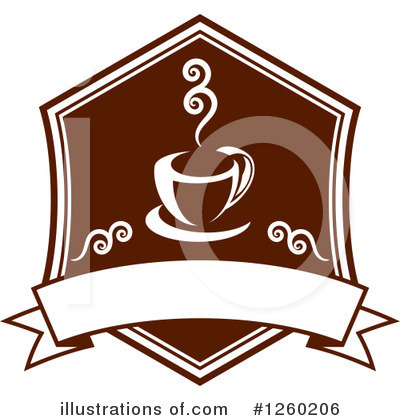 Royalty-Free (RF) Coffee Clipart Illustration by Vector Tradition SM - Stock Sample #1260206
