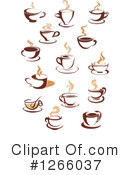 Coffee Clipart #1266037 by Vector Tradition SM