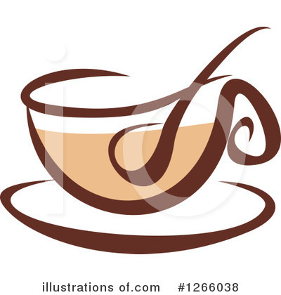 Coffee Clipart #1266038 by Vector Tradition SM