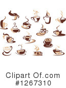 Coffee Clipart #1267310 by Vector Tradition SM